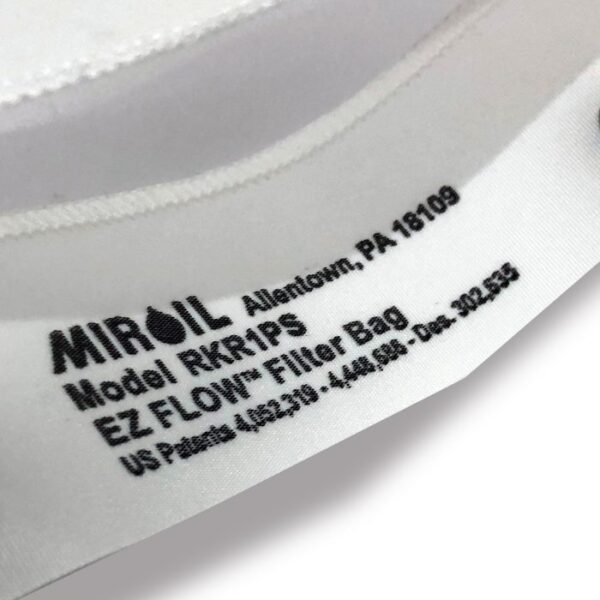 Non Active Triple Filtration Miroil bag close up