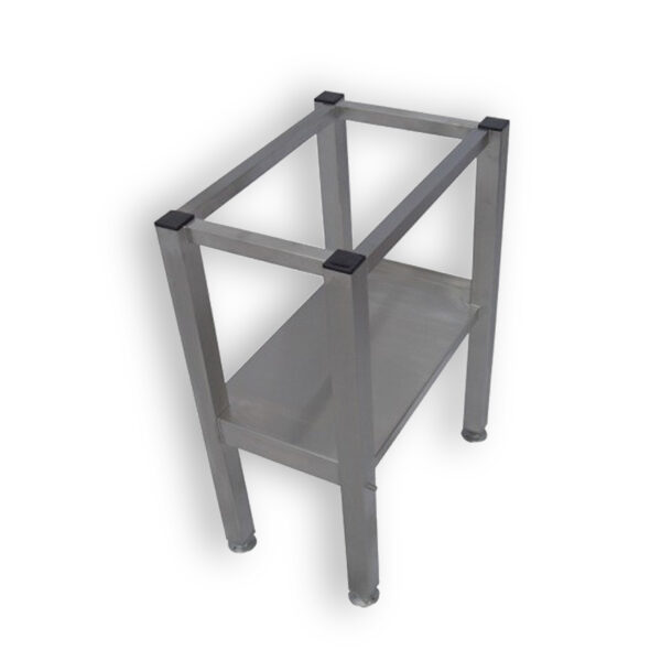 Bold S1 Chipper Stainless Steel Stand with Under Shelf